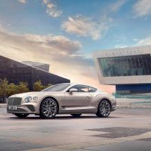 Представлен роскошный Bentley Continental GT Mulliner