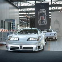 30-летие Blue Factory - Bugatti отмечает юбилей культового завода