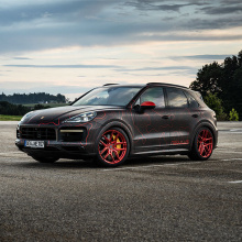 Nebulus Porsche Cayenne от BLACK BOX-RICHTER
