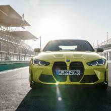 Утечка фотографий BMW M3 и BMW M4