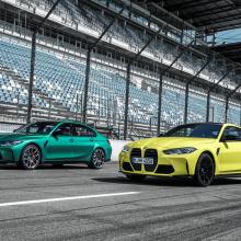 Представлены 2021 BMW M3 и M4