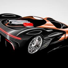 Новый австралийский суперкар с W16 мощностью 1400 л.с.