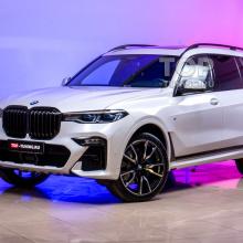Оклейка кузова нового BMW X7 выпущенного в США