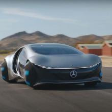 Концепт Mercedes Vision AVTR выходит на дорогу