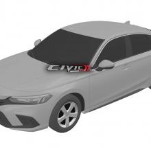 Первый взгляд на новый Honda Civic