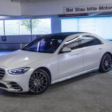 Mercedes-Benz представляет настоящую автономную парковку
