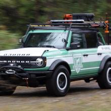 Концепт Ford Bronco Wildland Fire Rig прибыл для тушения огня