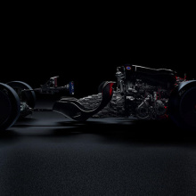 Последний тизер гиперкара от Bugatti