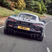 Новый гибридный суперкар McLaren вступает в финальную стадию испытаний