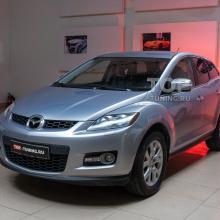 Доработка оптики и новая мультимедиа в Mazda CX-7
