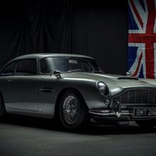 Реплика Aston Martin DB5 стоит дороже, чем новый Vantage
