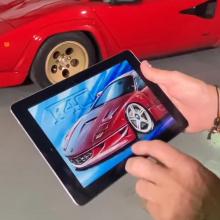 Дизайнер Ferrari переосмыслил F40