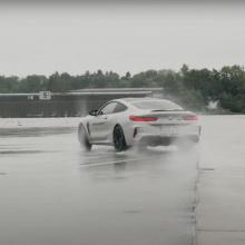 BMW учит нас, как управлять могучим M8