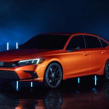 Поприветствуйте новый спортивный седан 2022 Honda Civic