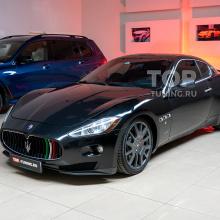 Полировка и защита оптики Maserati GranTurismo S