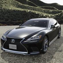 Lexus LS получил новый спортивный облик