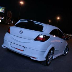 Спойлер Lexmaul на Opel Astra H GTC