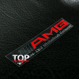 Наклейка - эмблема AMG 90 x 17 на Mercedes