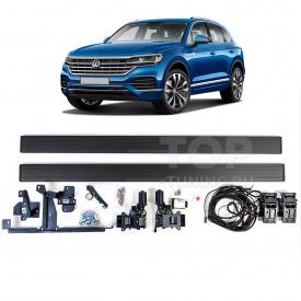 Выдвижные пороги-ступени RRS для Volkswagen Touareg