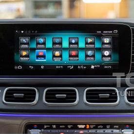 Навигационный блок Android для Mercedes-Benz MBUX NTG 6.0
