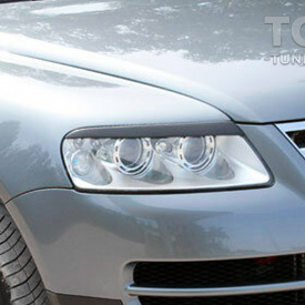 Реснички GT на фары Volkswagen Touareg 1