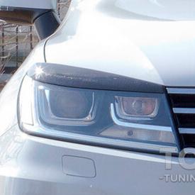 Реснички GT на фары Volkswagen Touareg 2