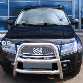 Решетка радиатора + решетка в бампер на Suzuki Grand Vitara 2
