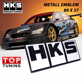 Шильдик эмблема HKS 80 x 37