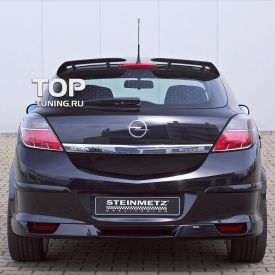 Накладка на задний бампер Steinmetz на Opel Astra H GTC