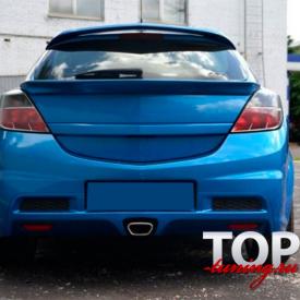 Нижний спойлер ICC на Opel Astra H GTC