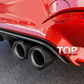 Насадка на выхлопную систему M-Power Carbon на BMW