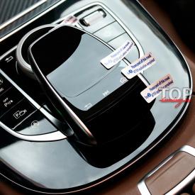 Защитная пленка панели управления на Mercedes E-Class W213