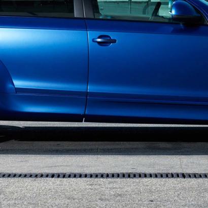 Накладки на двери - обвес на Audi Q7