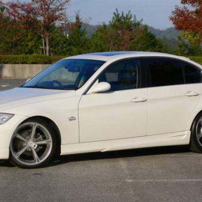 Обвес - пороги на BMW 3 E90