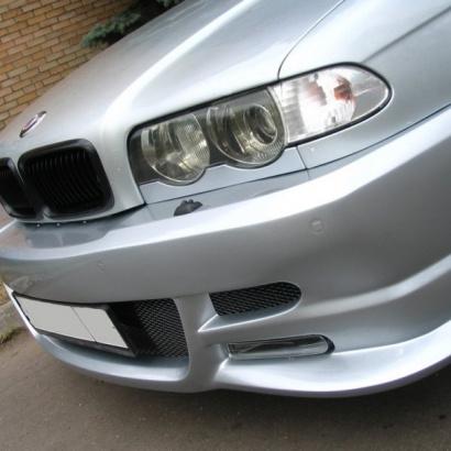 Передний бампер - Обвес на BMW 7 E38