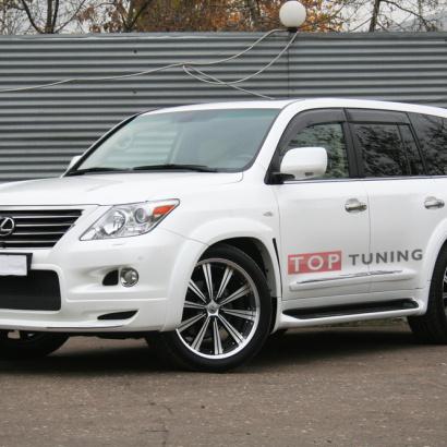 Обвес - комплект на Lexus LX570 UJR 200