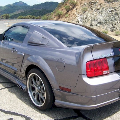 Спойлер - Обвес Eleanor на Ford Mustang 5