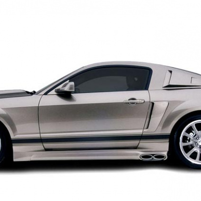 Пороги - Обвес на Ford Mustang 5