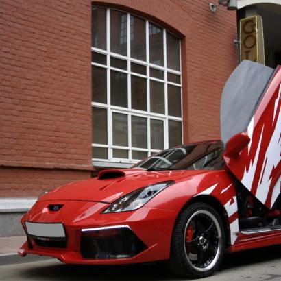 Обвес на Toyota Celica T23