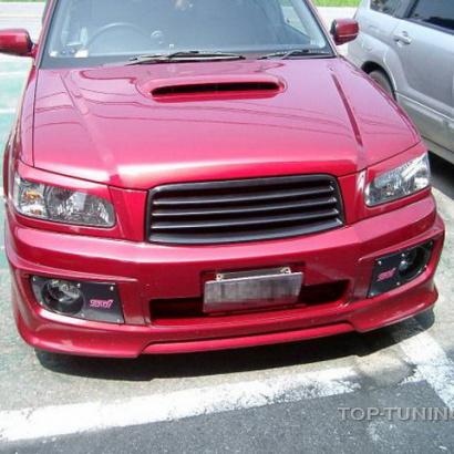 Передний бампер - Обвес на Subaru Forester SG