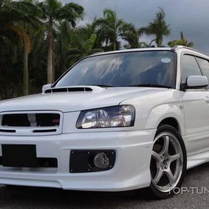 Обвес - комплект на Subaru Forester SG