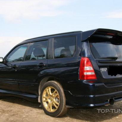 Пороги - Обвес на Subaru Forester SG