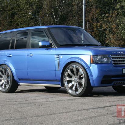 Комплект - обвес на Land Rover Range Rover Vogue 3