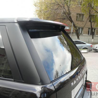 Спойлер верхний - обвес на Land Rover Range Rover Vogue 3