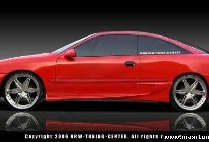 Пороги - Обвес на Opel Calibra A