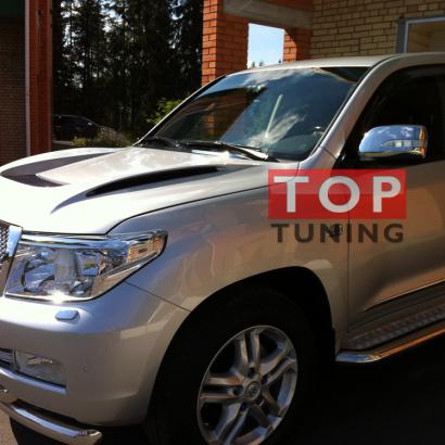 Капот с жабрами на Toyota Land Cruiser 200