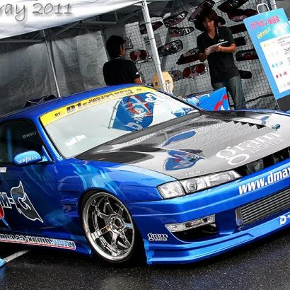 Передние крылья на Nissan Silvia S14