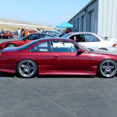 Пороги - Обвес на Nissan Silvia S14