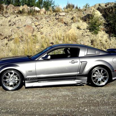Пороги - Обвес Eleanor на Ford Mustang 5