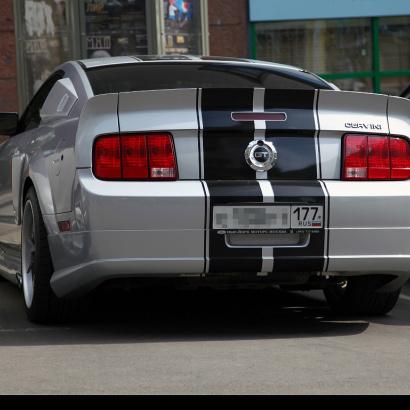 Задняя юбка - Обвес на Ford Mustang 5